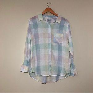 Rails Charli Pastel Buffalo Check Shirt